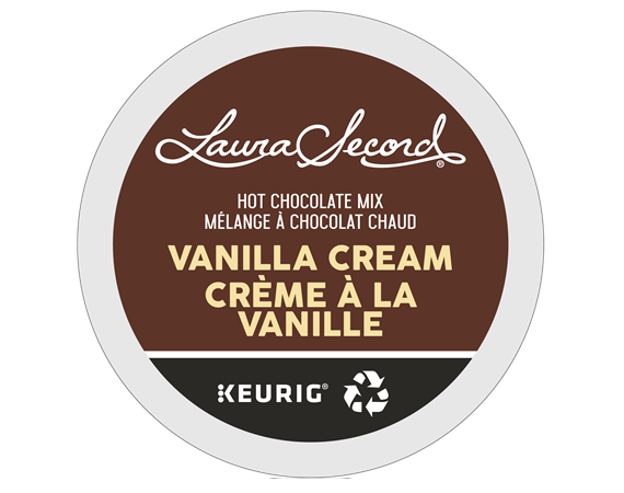 laura secord vanilla cream k-cup pds